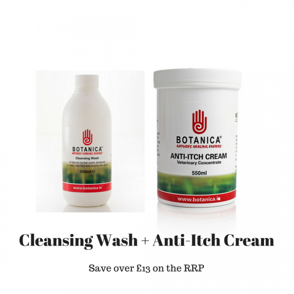 Cleansing Wash + Anti-Itch Cream