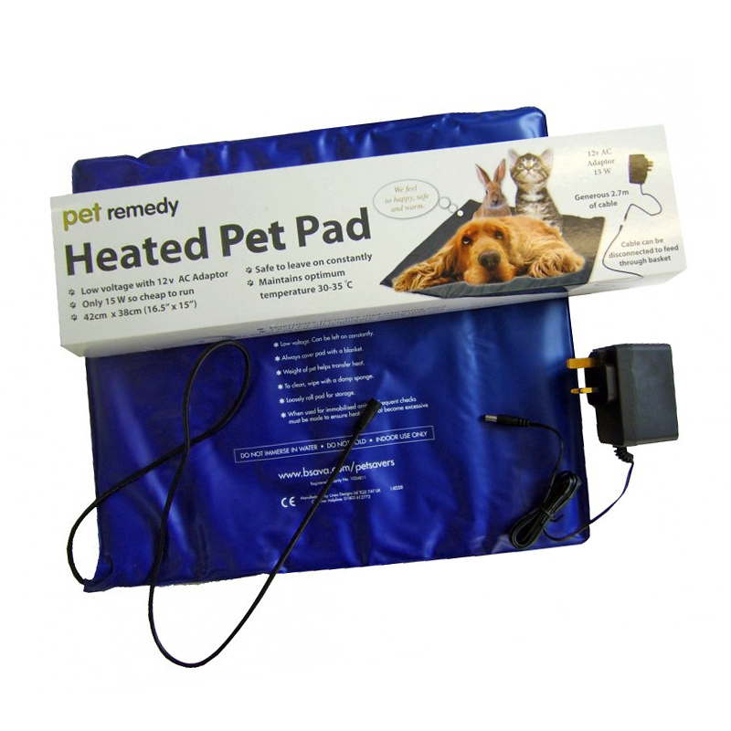 Pet Remedy Low Voltage Heated Pet Pad The Animal Therapy Hub