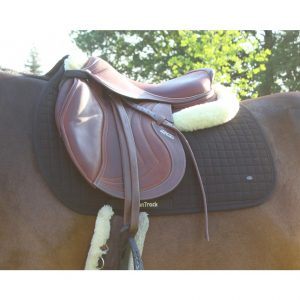 BOT Saddle Pad No II Jumping Black Design