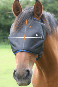 How to Measure Fly Masks